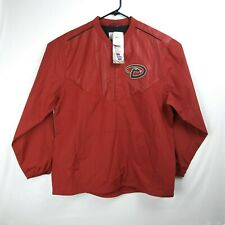 MAJESTIC Arizona Diamondbacks Windbreaker Jacket Vented Unlined MLB Men's Large