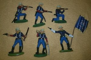 on foot 7th OF CAVALRY UNION Troops Civil War DSG  Soldiers ARGENTINA Britains