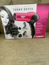 Conair 1875 Watt Turbo Styler Hair Dryer Ionic 146WNPR Pink