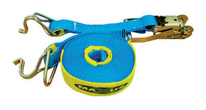 New HAND RATCHET AND STRAP Length: 9M  Width: 50MM      Load Capacity: 2500KG