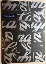 Campagnolo 2009 Range Catalogue, 160 Pages