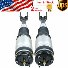 Fit 2011-2016 Jeep Grand Cherokee WK2 Quadra Front Pair Air Strut Assemblies