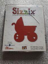 Sizzix Original Red Die - Baby Carriage - 38-0264