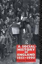 A Social History of England 1851-1990, Bedarida, Francois (Softcover)