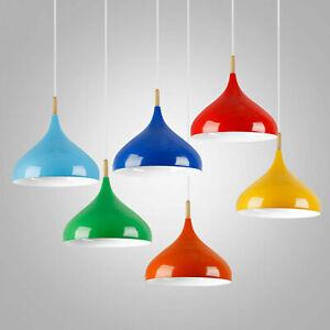 Modern Ceiling Pendant Light Chandelier hanging lamp retro Light Shade Lampshade