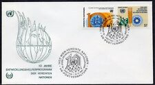 United Nations 1981 - Wien - 10th Anniversary of the Volunteers Programme- FDC