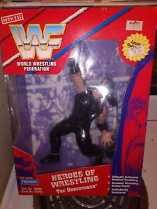 1997 Playmates WWF WWE Heroes of Wrestling The Undertaker New in Box