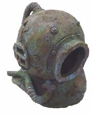 Supa Deep Sea Divers Helmet Aquarium Ornament Fish Tank Cave Decoration S434