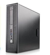 HP EliteDesk 800 G1 SFF PC Desktop (Intel Core i7 4770, 500GB SSHD, 16GB RAM)W10