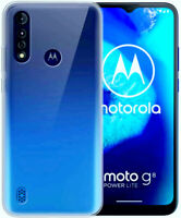 For Motorola Moto G8 Power Lite Case Clear Silicone Ultra Slim Gel Cover