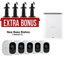 Arlo Pro 2 Smart Security System 5 HD Cameras Surveillance system + Free Mount