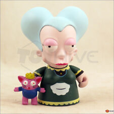 Kidrobot Futurama - Mom with Q. T. McWhiskers 3-inch vinyl figure - displayed