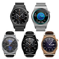 Waterproof Bluetooth Smart Watch Phone Mate SMS 1.3'' For Android 4.3 iOS 8.0