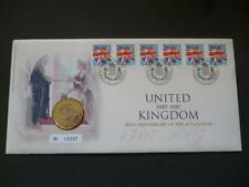 More details for 2007 anniversary of the act of union pnc featuring £2 coin and six stamps.