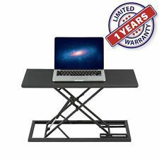 "Standing Portable Laptop Sit & table folding mobile Adjustable workbench 26.8"""
