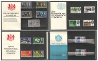 1964 Royal Mail Commemorative Presentation Packs. Each sold separately.