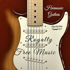 Charity CD: 20 Melodic Rock Guitar Instrumentals With Full Royalty Free License