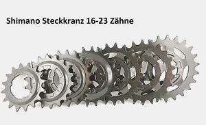 Fahrrad Ritzel Steckkranz Zahnkranz 16 18 19 20 21 22 23 Zähne Schaltung Shimano