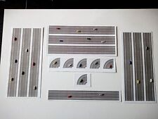 Airport Accessories sticker roads/curves/bus stop ideal for Herpa 1:500 dioramas