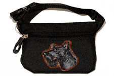 Scottish Terrier black Dog treat pouch/bag for dog shows & training.