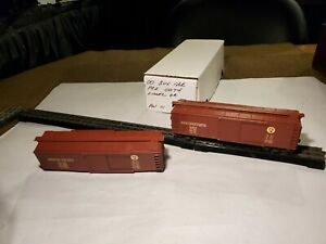 Lionel Pre War 00 Scale # 0074 PRR All Metal Box Cars 2 Rail? 1938/42 One GC/VG