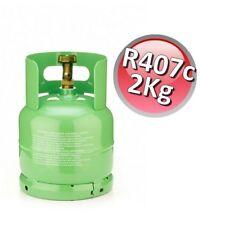 3S BOMBOLA RICARICABILE R407c R-407 KG 2 NETTI GAS REFRIGERANTE REFRIGERAZIONE