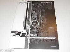 AGMA8-USA AGAMA A8 EVO BUGGY INSTRUCTION MANUAL