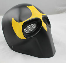 COOL Black Fiberglass Resin Mesh Eye Airsoft Paintball Full Face Protection Mask