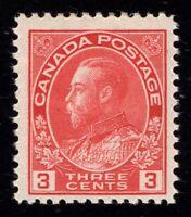 Canada Scott 109 Mint LH OG Cat Val $17.50 Lot P584
