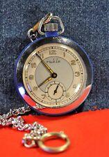 """Ruhla""   Rare  cal.UMF 83 Rare Old Circa 1961's  German Pocket watch"