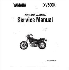 1983-1987 Yamaha Virago 500 ( XV500 ) Service Repair Workshop Manual CD - XV500K