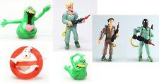 SOS Fantômes lot de 6 figurines Ghostbusters Logo + Egon + Winston+ Ray + Slimer