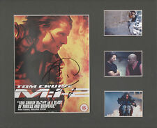 TOM CRUISE Signed 10x9 Photo Display MISSION IMPOSSIBLE & TOP GUN  COA