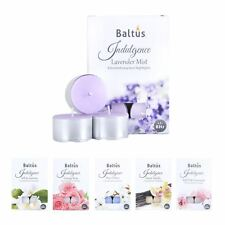 Baltus 6 Pack 8 Hour Burn Scented Tealight Candles Vanilla Jasmine Cotton Rose