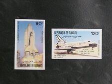 TIMBRES THEME COSMOS SPATIAL : 1981 DJIBOUTI YVERT PA N° 155/56 NEUF Non Dentelé