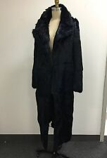 Band of Outsiders BOY Midnight Blue Rabbit Fur Coat (Size Women's 4)
