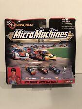 1999 Micro Machines Jeff Gordon Green Flag Series Winner's Circle BRAND NEW!