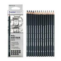 14X box Professional Drawing Sketch Pencil Art Artist Craft School Supplies Set