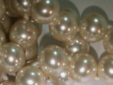 1/2 Pound Bag ALL Majorca Pearls 8 MM Size Partial Strands NICE Lot Unused