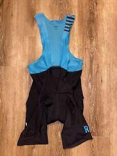 Rapha Pro Team Bib Shorts II Men LARGE Dark Teal Road Bike Race Mountain Gravel
