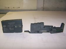NEW SIEMENS 6ES7 135-4MB02-0AB0 2AO OUTPUT MODULE WITH 6ES7 193-4CA50-0AA0 BASE
