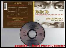"JOHANN SEBASTIAN BACH ""5 Concertos"" (CD Digipack) Soustrot,Dekyndt 2000"