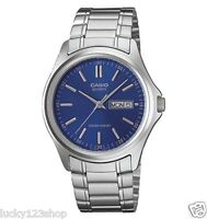 MTP-1239D-2A Stainless steel Casio Men's Water Resist Day Date Watch