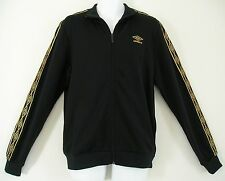 NEW~Umbro 1350 DIAMOND ICONS TAPED Track sweat shirt Jacket soccer Top~Mens 2XL
