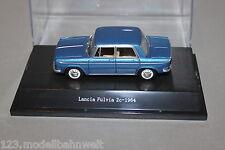Starline Lancia Fulvia 2c blau metallic 1:43  in Vitrine