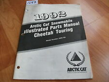 1992 Arctic Cat Snowmobile Cheetah Touring Illustrated Parts Manual