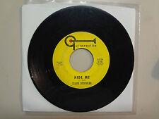 "CLARK BROTHERS:Hide Me 2:03-Listen Girl 2:18-U.S. 7"" Guitarsville G- 2124,Garage"
