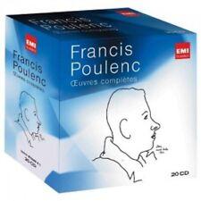 PRETRE/POULENC/FEVRIER/CRESPIN - FRANCIS POULENC-SÄMTLICHE WERKE 20 CD  NEW