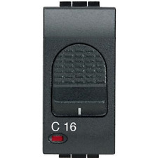 BTICINO MAGNETOTERMICO 1P+N 16A 3KA L4301/16 LIVING INTERNATIONAL