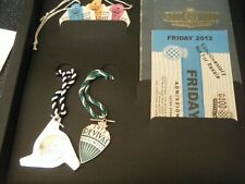 More details for ubs goodwood revival drivers box set club medals  2012 tickets badges documents